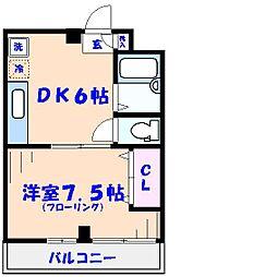 あけぼのSSビル2F[208号室]の間取り
