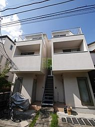 東京都杉並区梅里2丁目の賃貸アパートの外観