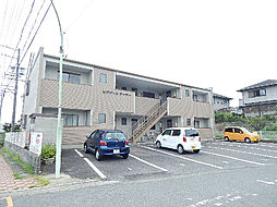 三重県津市河芸町西千里の賃貸アパートの外観