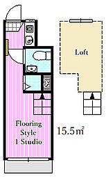 エクセル6[1階]の間取り