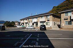 福岡県遠賀郡水巻町杁2の賃貸アパートの外観