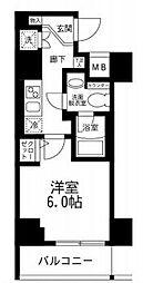 アイルイマージュ弘明寺[8階]の間取り