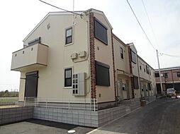 千葉県野田市桜の里1丁目の賃貸アパートの外観