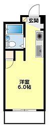 愛知県豊田市梅坪町9丁目の賃貸マンションの間取り