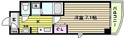 兵庫県神戸市東灘区御影本町6丁目の賃貸マンションの間取り