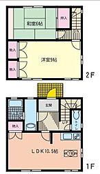 [テラスハウス] 神奈川県藤沢市石川3丁目 の賃貸【/】の間取り