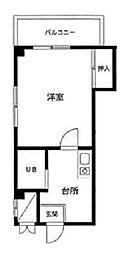 東京都葛飾区鎌倉4丁目の賃貸マンションの間取り