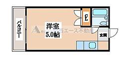小若江ドミトリー[2階]の間取り