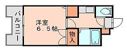 ストリームライン南福岡[3階]の間取り