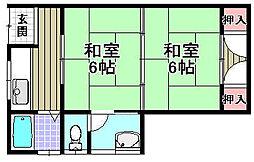 [テラスハウス] 大阪府和泉市小田町2丁目 の賃貸【/】の間取り
