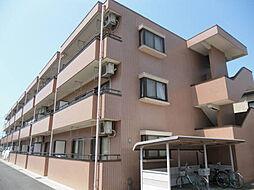 埼玉県鴻巣市宮前の賃貸マンションの外観