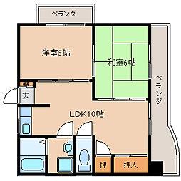 ベスト興産ビル[5階]の間取り