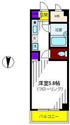 エイティ・エイトタチカワ[5階]の間取り