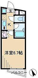 ユナイテッドグロー文京白山[1階]の間取り