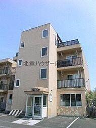 北海道札幌市北区屯田九条5丁目の賃貸マンションの外観