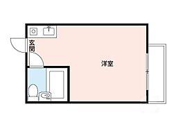 レナジア摂津[3階]の間取り
