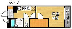 レオパレス昴[1階]の間取り
