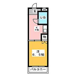 シュロス小川[3階]の間取り