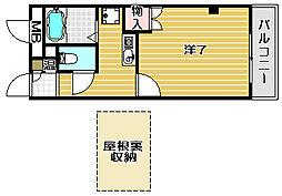 etoile MT3[4階]の間取り