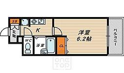 エスリード京橋ステーションプラザ[2階]の間取り
