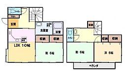 [一戸建] 神奈川県藤沢市大庭 の賃貸【/】の間取り