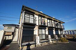 千葉県市原市菊間の賃貸アパートの外観