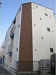 東京都板橋区小豆沢3丁目の賃貸アパートの外観