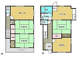 [一戸建] 兵庫県神戸市垂水区舞子坂2丁目 の賃貸【/】の間取り
