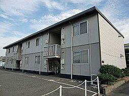 岡山県岡山市南区箕島の賃貸アパートの外観