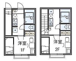 HAPPINESS大森II[1階]の間取り