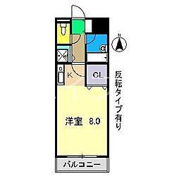 ソノ.ア.カーザ[1階]の間取り