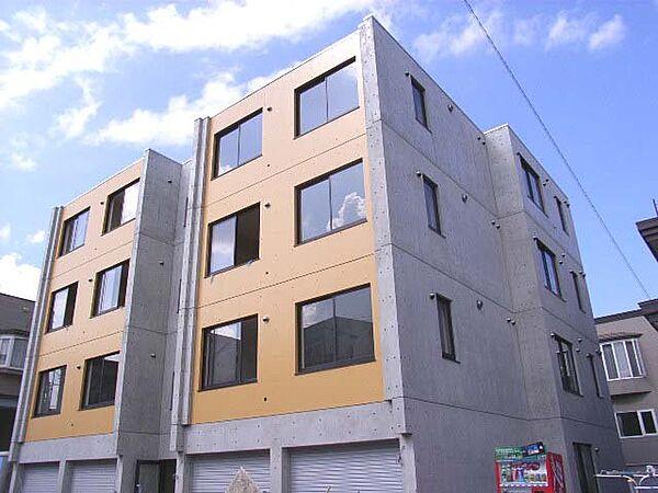 北海道札幌市西区発寒1条2丁目の賃貸マンションの外観