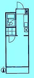 コーポニューライフ[2階]の間取り