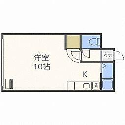 DAIWA南郷II[1階]の間取り