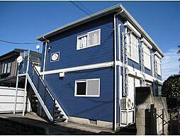 神奈川県横浜市神奈川区羽沢南4丁目の賃貸アパートの外観