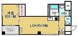 Le Vent Motoyama[2階]の間取り