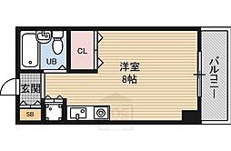 東明マンション江坂1[3階]の間取り