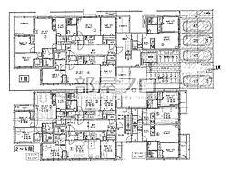 仮)北21西7マンション[3階]の間取り