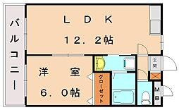 エクセルハイツモリ2[2階]の間取り