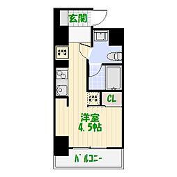 リヴシティ堀切菖蒲園[5階]の間取り