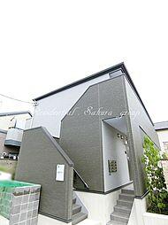 神奈川県茅ヶ崎市松浪1丁目の賃貸アパートの外観