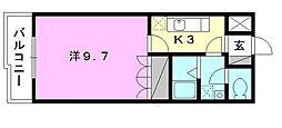 プランドール・カネキA棟[206 号室号室]の間取り