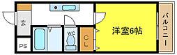 ディアス3[2階]の間取り