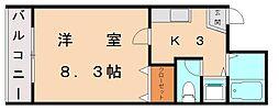 ルプレ今の庄[3階]の間取り