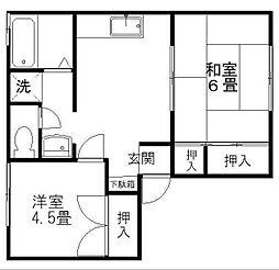 ストークフォーレスト E棟[2階]の間取り