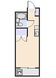 ファミール北野B[303号室]の間取り