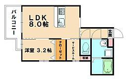 仮)プレステージ粕屋原町駅前[1階]の間取り