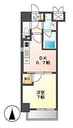 MX−1 エムエックスワン[10階]の間取り