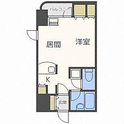 サンシャイン・シティー弐番館[6階]の間取り