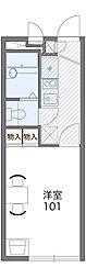 レオパレスコンファーレ八千代台[2階]の間取り